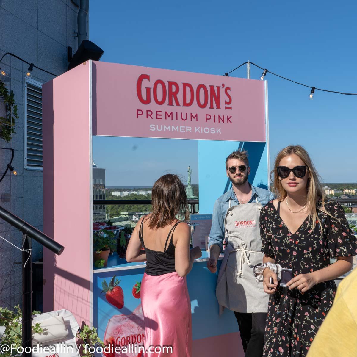 Gordon's Pink Summer kiosk